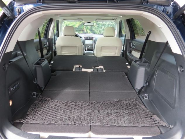 Ford Explorer Platinum 2018 V6 Ecoboost Blue Jean Neuf - 21