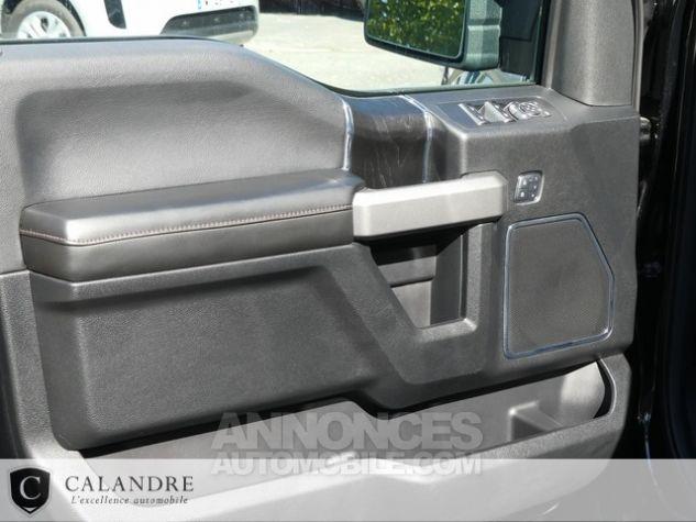 Ford F150 PLATINIUM 5.0 V8 SUPERCREW NOIR Occasion - 24