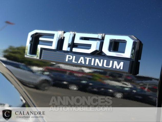 Ford F150 PLATINIUM 5.0 V8 SUPERCREW NOIR Occasion - 45