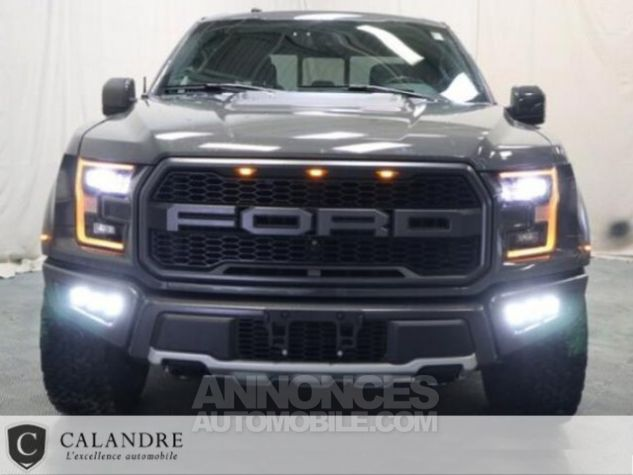 Ford F150 RAPTOR 3.5 V6 SUPERCREW Gris Plomb Occasion - 6