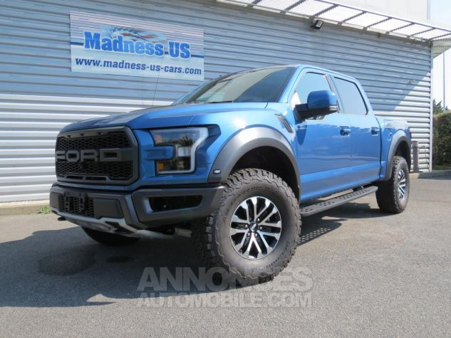 Ford F150 Raptor SuperCrew 2019 - 450 chevaux Performance Blue. Neuf - 3