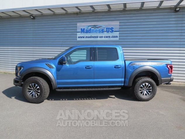 Ford F150 Raptor SuperCrew 2019 - 450 chevaux Performance Blue. Neuf - 5