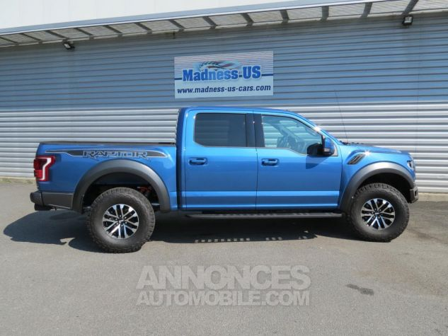 Ford F150 Raptor SuperCrew 2019 - 450 chevaux Performance Blue. Neuf - 9