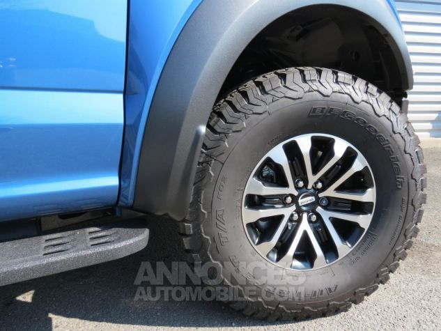 Ford F150 Raptor SuperCrew 2019 - 450 chevaux Performance Blue. Neuf - 10