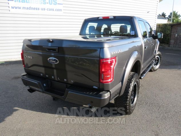 Ford F150 Shelby V8 Supercharged SuperCrew 4x4 2017 Magnetic Grey Neuf - 8