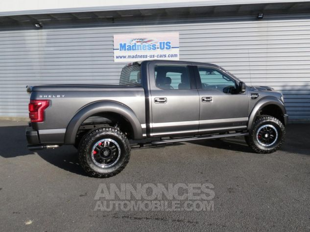Ford F150 Shelby V8 Supercharged SuperCrew 4x4 2017 Magnetic Grey Neuf - 9