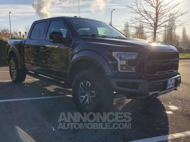 Ford F150 SUPERCREW Noir Occasion - 1