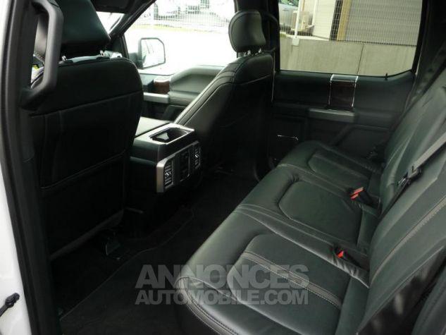Ford F150 SUPERCREW PLATINUM V6 ECOBOOST 365CH BLANC NACRE Occasion - 7