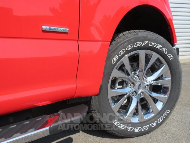 Ford F150  XLT SuperCab 4x4 2017 Race Red. Neuf - 11