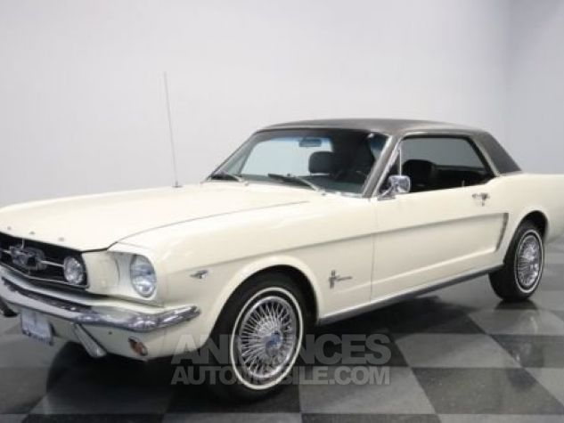 Ford Mustang 1965 Blanc Occasion - 5