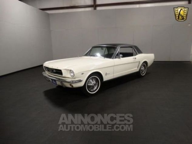 Ford Mustang 1965 Blanc Occasion - 2