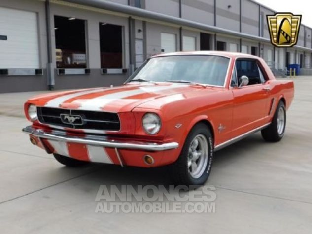 Ford Mustang 1965 Orange Occasion - 5