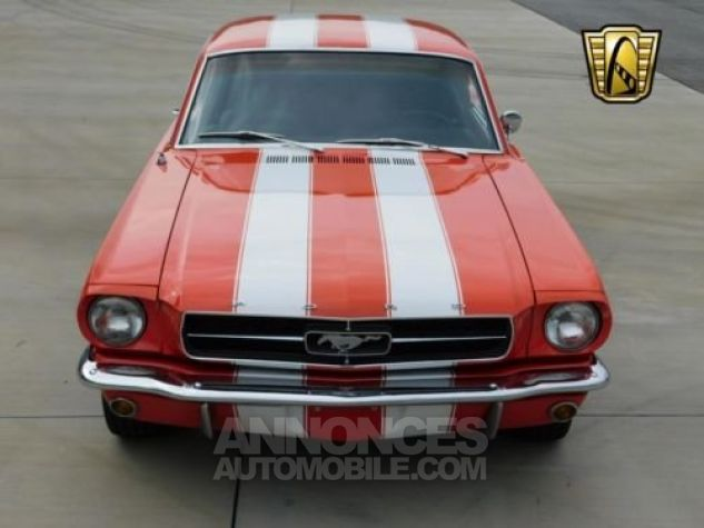 Ford Mustang 1965 Orange Occasion - 7
