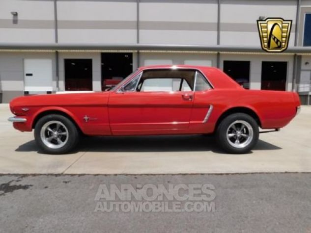 Ford Mustang 1965 Rouge Occasion - 2