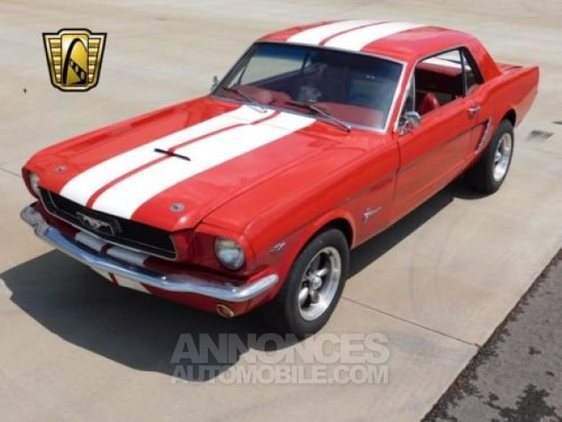 Ford Mustang 1965 Rouge Occasion - 4