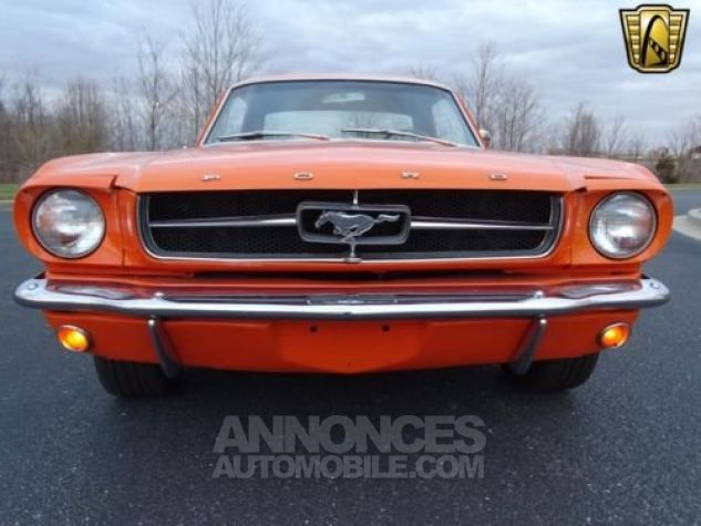 Ford Mustang 1965 Orange Occasion - 2