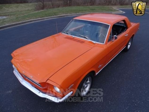 Ford Mustang 1965 Orange Occasion - 4