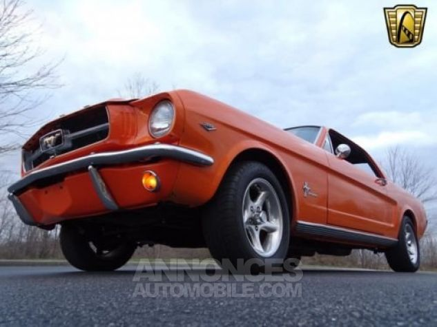 Ford Mustang 1965 Orange Occasion - 6