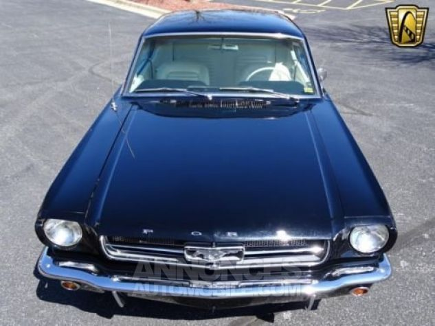 Ford Mustang 1965 Noir Occasion - 1