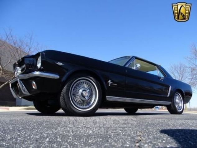 Ford Mustang 1965 Noir Occasion - 6