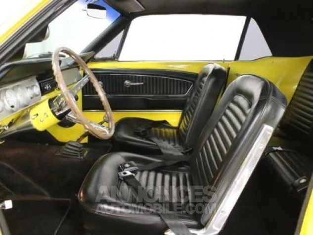 Ford Mustang 1965 Jaune Occasion - 2