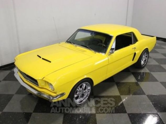 Ford Mustang 1965 Jaune Occasion - 5