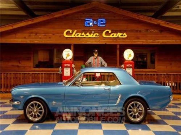 Ford Mustang 1965 Bleu Occasion - 0