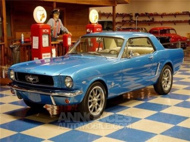 Ford Mustang 1965 Bleu Occasion - 1