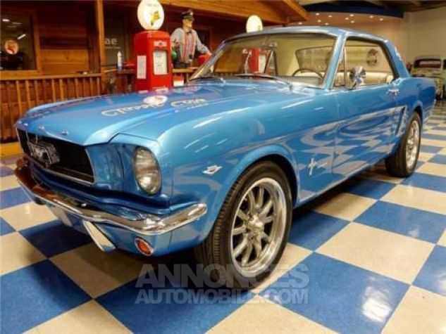 Ford Mustang 1965 Bleu Occasion - 3