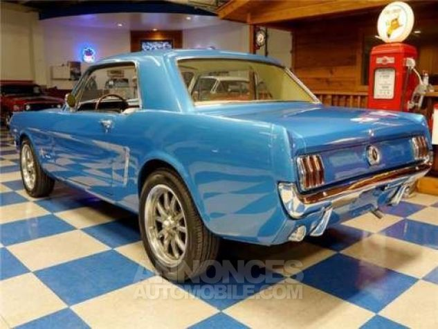 Ford Mustang 1965 Bleu Occasion - 4