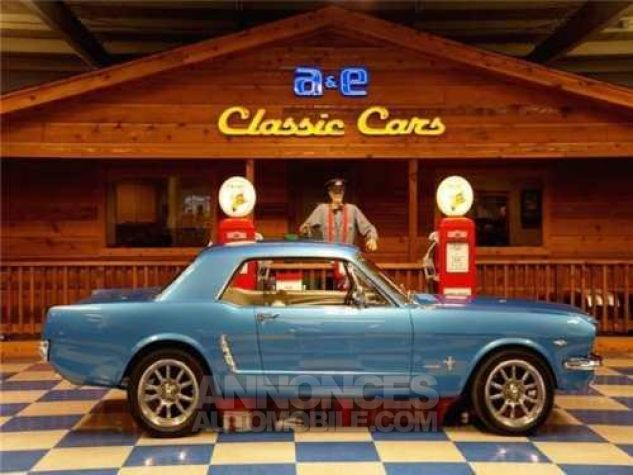 Ford Mustang 1965 Bleu Occasion - 5