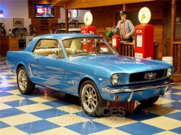 Ford Mustang 1965 Bleu Occasion - 6