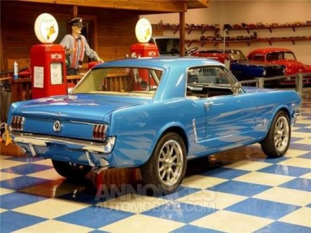 Ford Mustang 1965 Bleu Occasion - 7