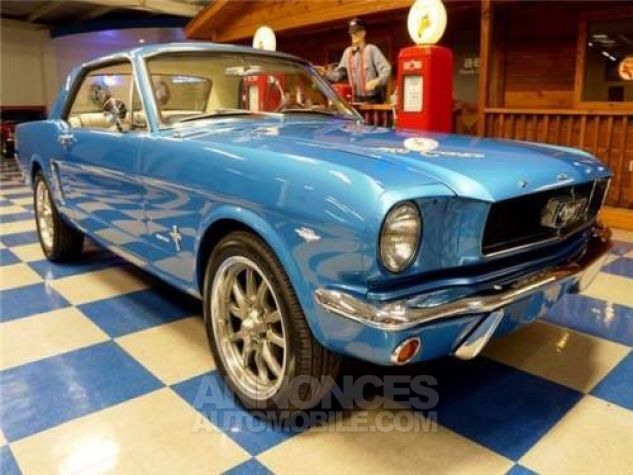 Ford Mustang 1965 Bleu Occasion - 8