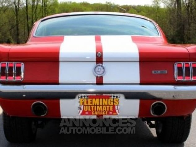Ford Mustang 1965 Rouge Occasion - 9