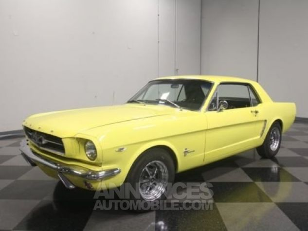 Ford Mustang 1965 Jaune Occasion - 6
