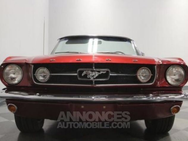 Ford Mustang 1965 Burgundy Occasion - 3