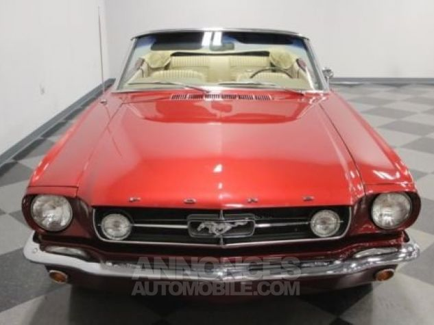 Ford Mustang 1965 Burgundy Occasion - 4