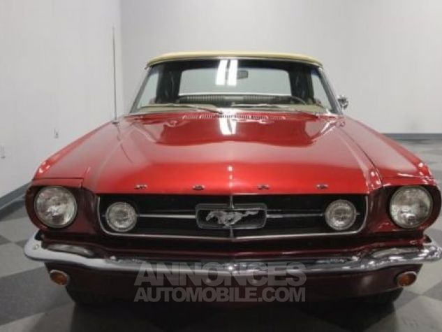 Ford Mustang 1965 Burgundy Occasion - 5