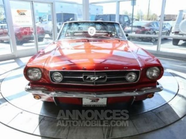 Ford Mustang 1965 Rouge Occasion - 1