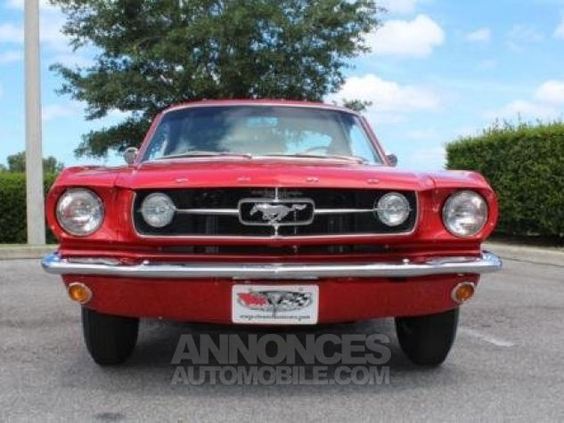 Ford Mustang 1965 Rouge Occasion - 3