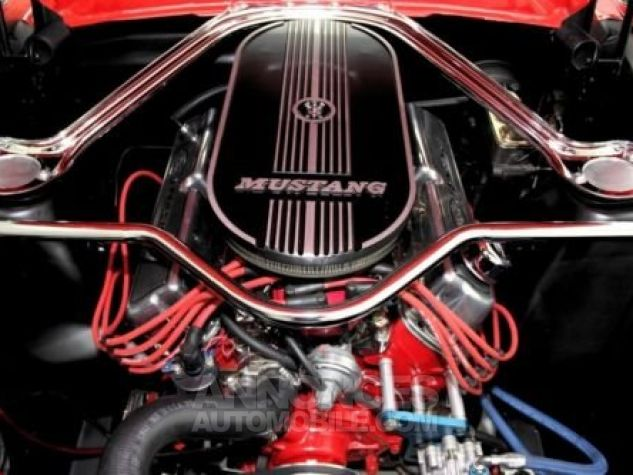 Ford Mustang 1965 Rouge Occasion - 5