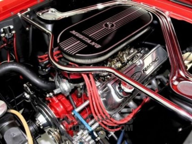 Ford Mustang 1965 Rouge Occasion - 6