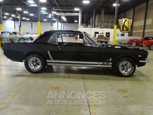 Ford Mustang 1965 Noir Occasion - 4