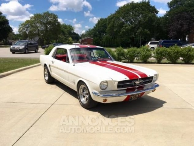 Ford Mustang 1965 Blanc Occasion - 3