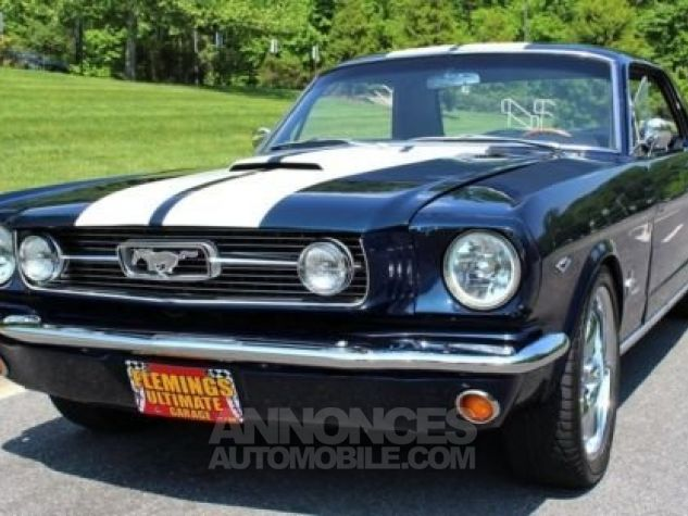 Ford Mustang 1966 Bleu Occasion - 7