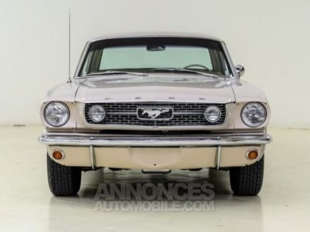Ford Mustang 1966 Sahara beige Occasion - 1