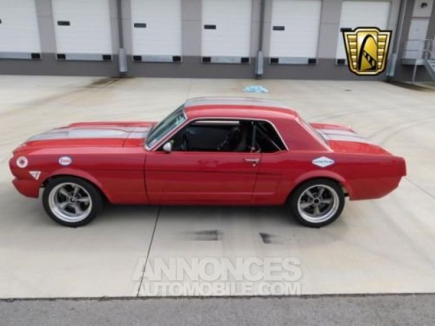 Ford Mustang 1966 Rouge Occasion - 1