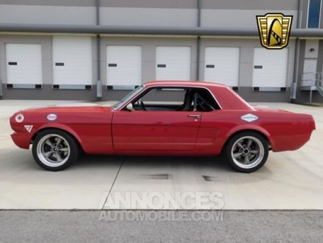 Ford Mustang 1966 Rouge Occasion - 2