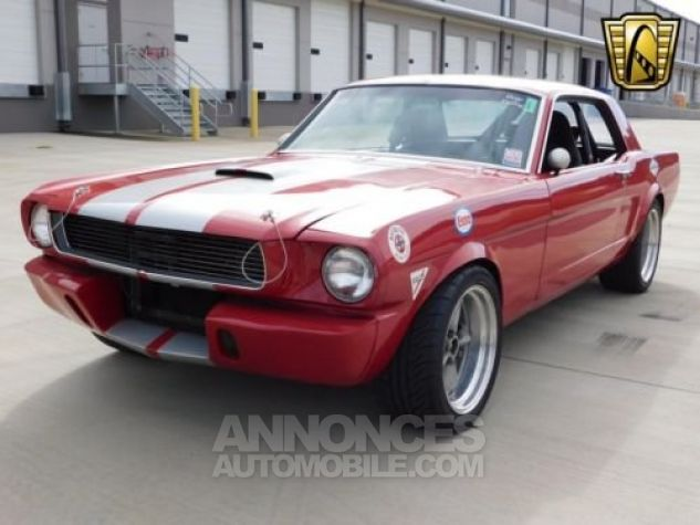 Ford Mustang 1966 Rouge Occasion - 5